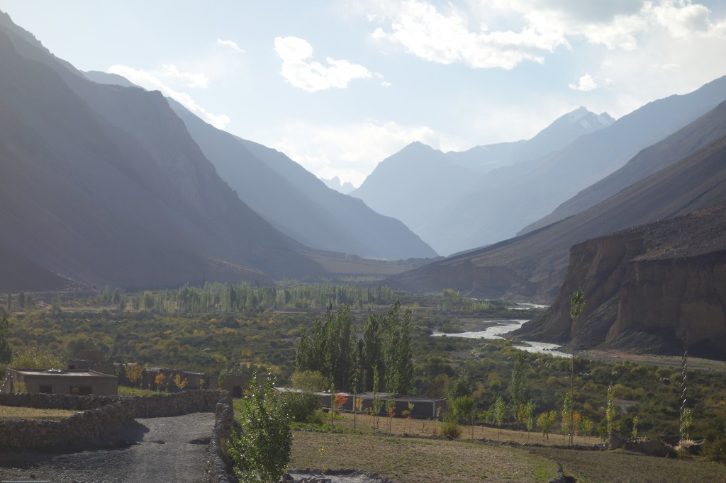 View of Zood Khun, Alam Jan's village in the Chapursan Valley