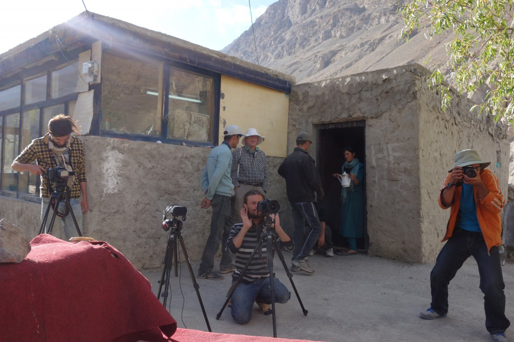 Being part of a documentary about folklore in the Chapursan valley