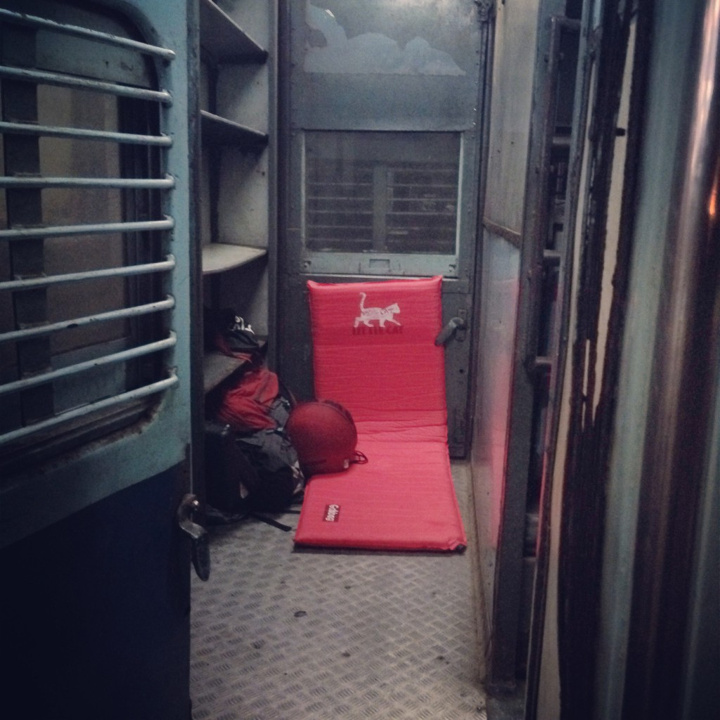 My own frst class sleeper train